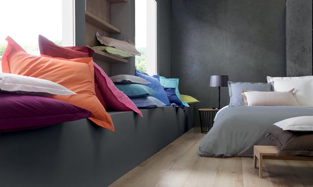 gamme linge de lit uni
