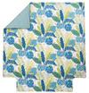 BALI Bleu canard Percale 100% coton