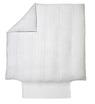 DELHI Craie Satin Jacquard coton-lin stonewashed