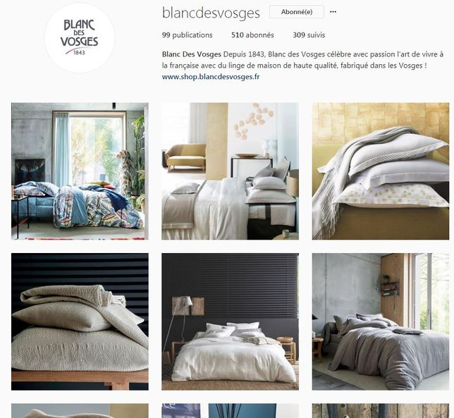 Instagram Blanc des Vosges