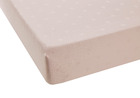 DELHI Poudre Satin Jacquard coton-lin stonewashed