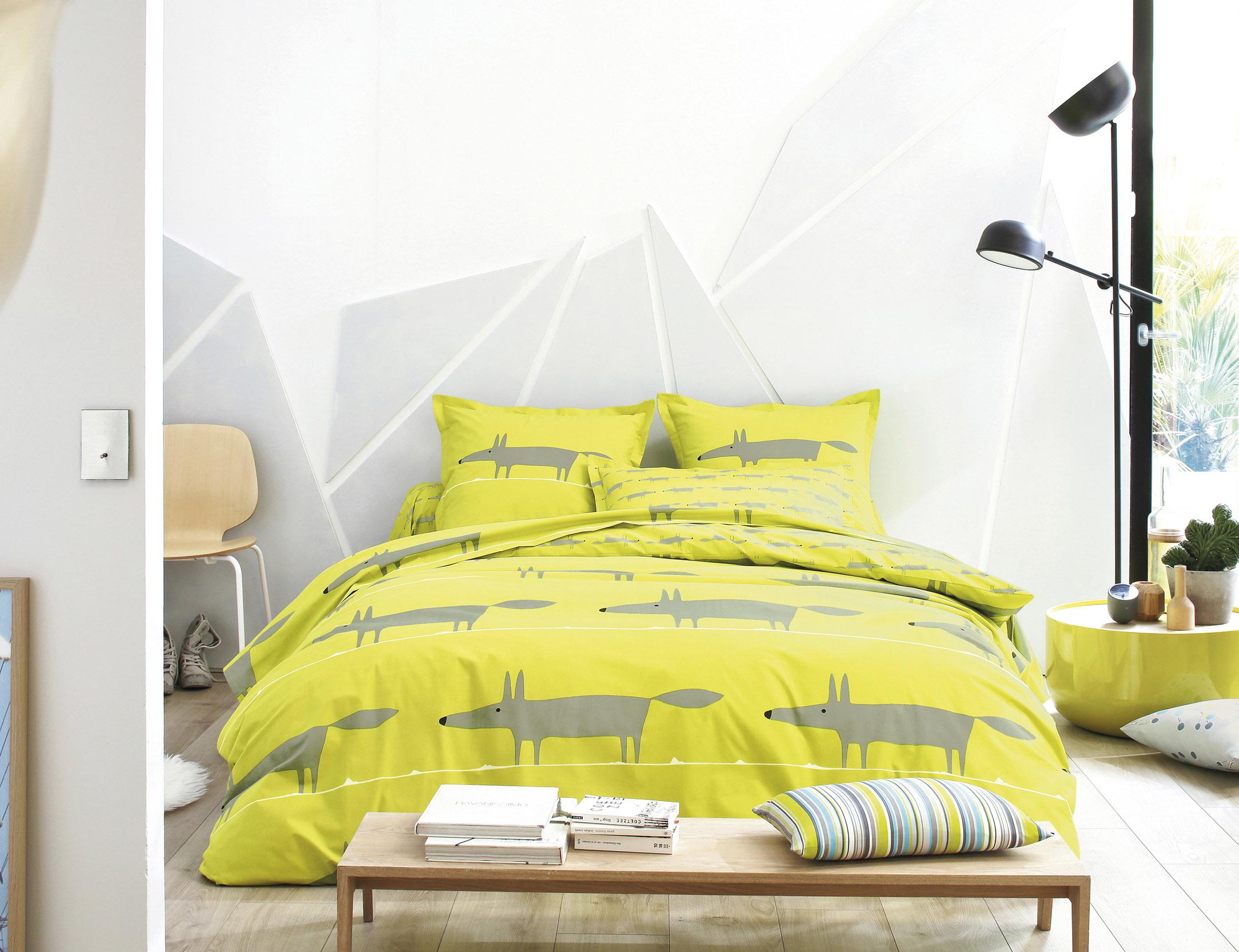 mr fox taie la boutique blanc des vosges. Black Bedroom Furniture Sets. Home Design Ideas