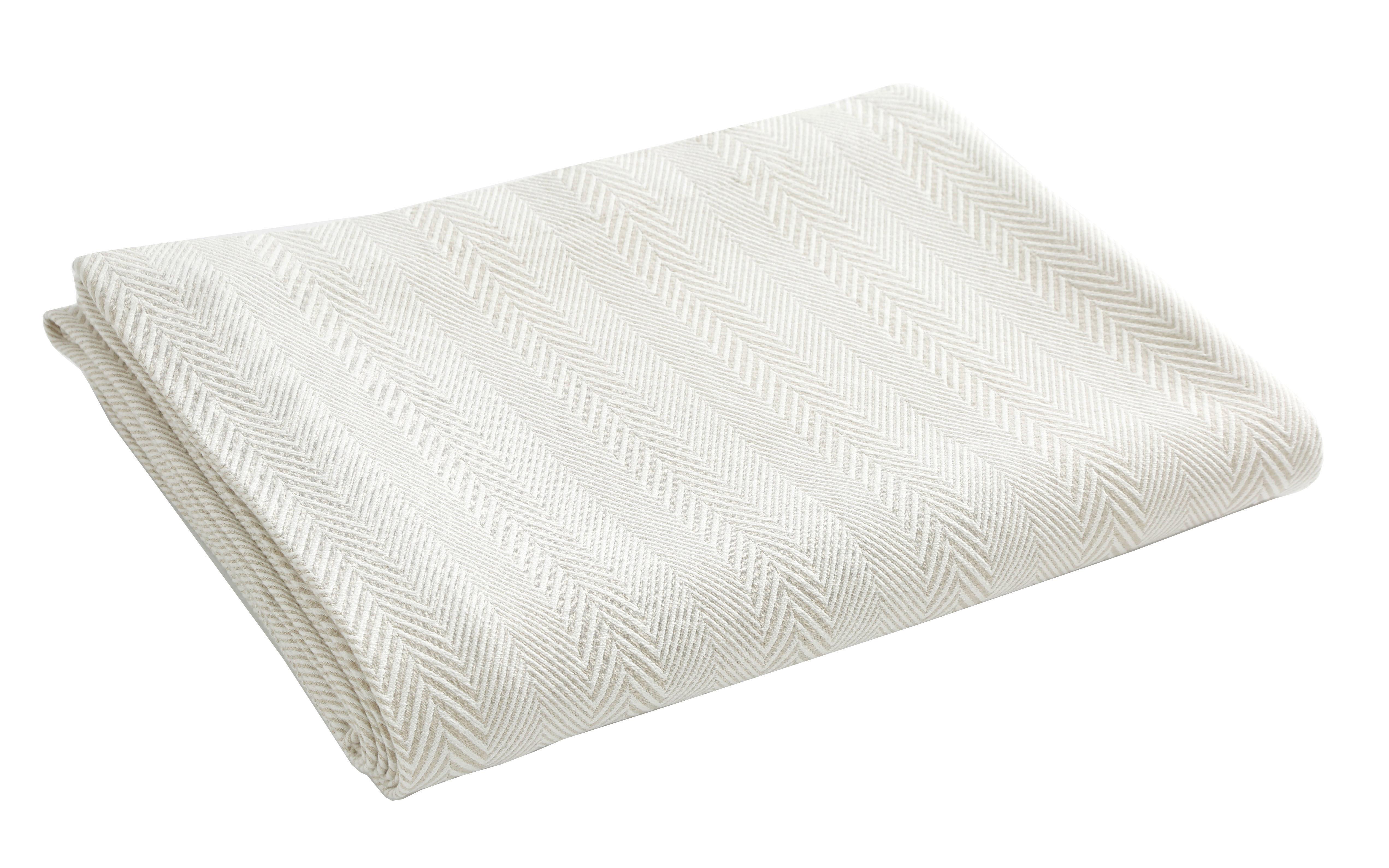 chevrons jet de lit la boutique blanc des vosges. Black Bedroom Furniture Sets. Home Design Ideas