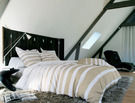 GRAND LARGE Craie Percale 100% coton