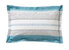CADENCES Bleu canard Percale 100% coton