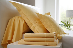 UNI Curry Percale 100% coton