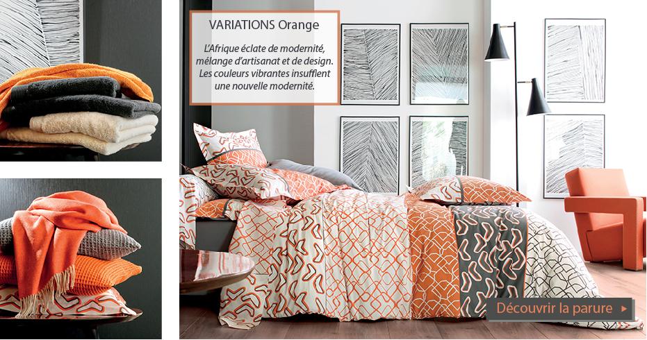 Variations orange
