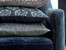 EMPIRE Acier Doupion 100% polyester brodé