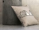 SPIKE Gris Percale 100% coton