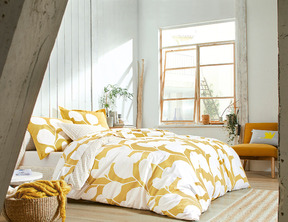 STEPPES Ocre Percale 100% coton