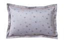 DAPHNEE Bleu jean Satin Jacquard 100% coton