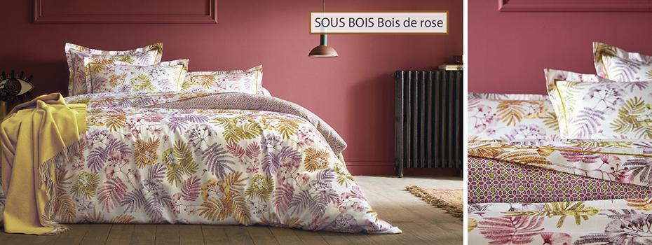 SOUS BOIS BOIS DE ROSE