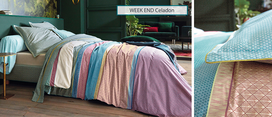 WEEK END CELADON