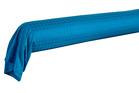 PALACE Bleu paon Satin Jacquard 100% coton