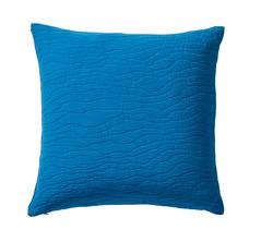 RACINES Bleu paon Piqué 100% coton stonewashed