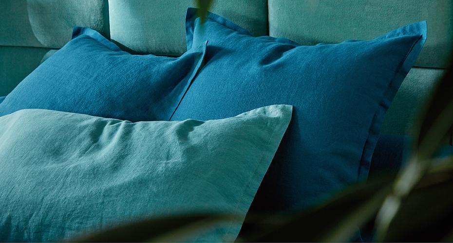 LOUXOR bleu paon CELADON