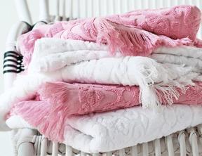 PRINCESSE Bois de rose Eponge 100% coton