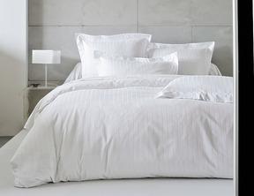 DIVINE Blanc Satin Jacquard 100% coton