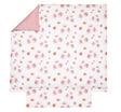 DAHLIAS Pink Satin 100% coton