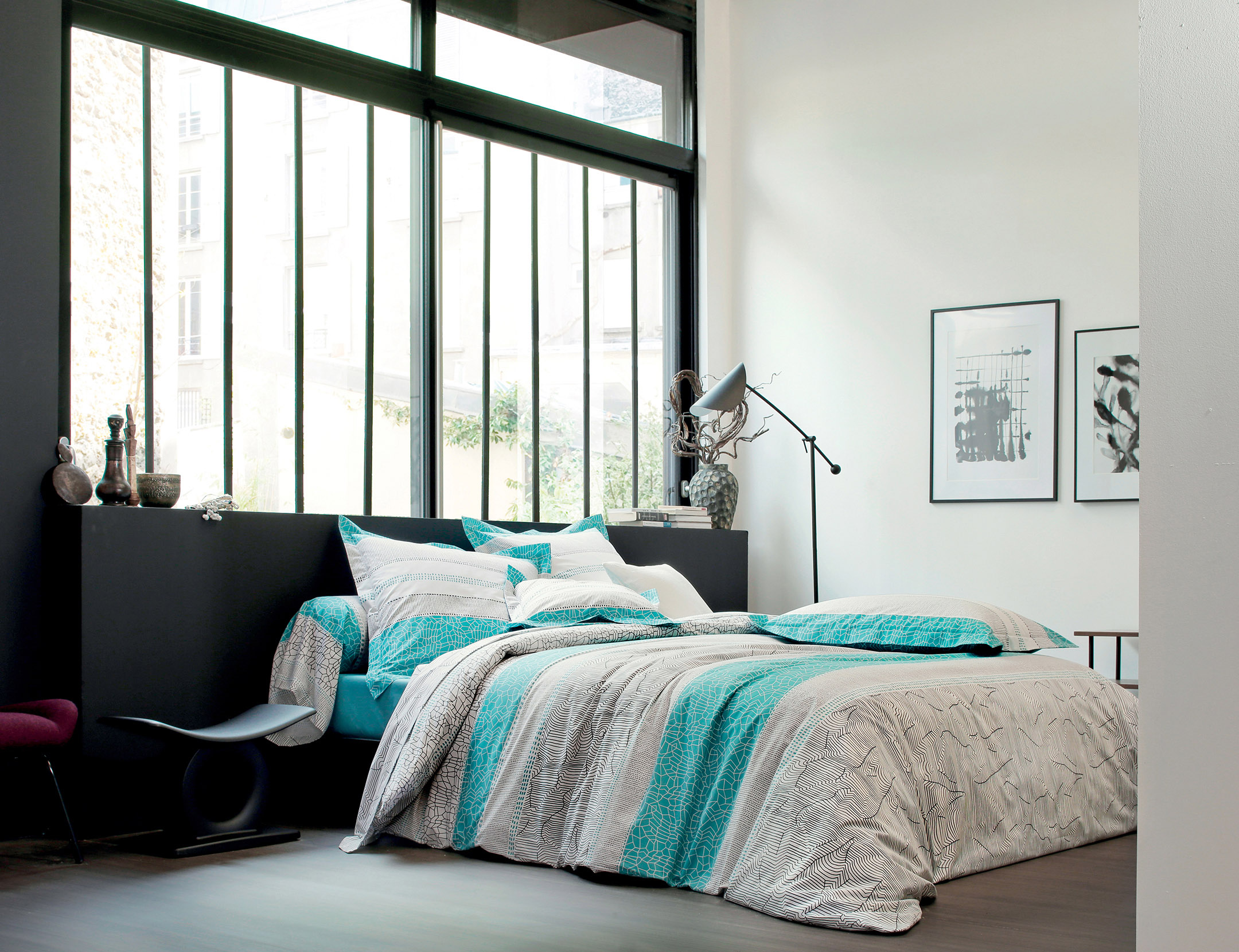 cadences traversin la boutique blanc des vosges. Black Bedroom Furniture Sets. Home Design Ideas